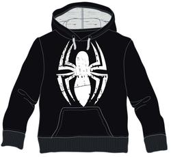 SUDADERA SPIDERMAN NEW LOGO XL