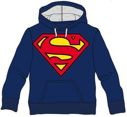 SUDADERA SUPERMAN LOGO CLASSIC XL