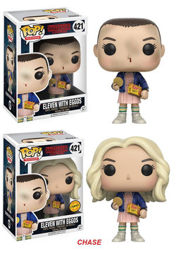 FIGURA POP STRANGER THINGS: ELEVEN WITH EGGOS