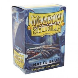 FUNDA *MATE* DRAGON SHIELD BLUE (100)
