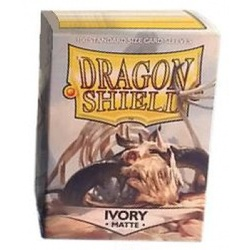 DRAGON SHIELD STANDARD SLEEVES - MATTE IVORY (100 SLEEVES)