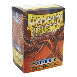 FUNDA *MATE* DRAGON SHIELD RED (100)