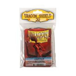 DRAGON SHIELD STANDARD SLEEVES - COPPER (50 SLEEVES)