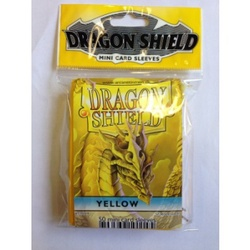 FUNDA YUGI DRAGON SHIELD YELLOW (50)