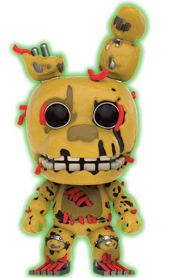 FIGURA POP FIVE NIGHTS AT FREDDY`S: SPRINGTRAP G
