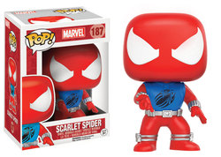 FIGURA POP MARVEL: SCARLET SPIDER EXCL