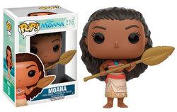 FIGURA POP MOANA: MOANA WITH OAR