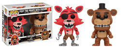 FIGURA POP PACK FIVE NIGHTS FREDDY AND PIRATE FOXY