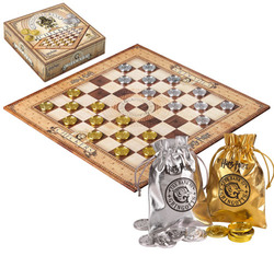 HARRY POTTER BOARDGAME CHECKERS GRINGOTTS