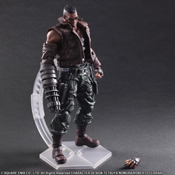 FIGURA PLAY ARTS KAI FINAL FANTASY BARRET 27 CM