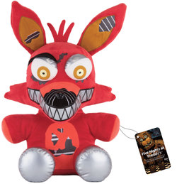 PELUCHE FIVE NIGHTS AT FREDDY`S FOXY 40 CM