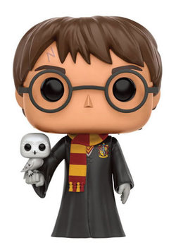 FIGURA POP HARRY POTTER : HARRY WITH HEDWIG