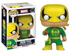 FIGURA POP MARVEL: IRON FIST CLASSIC