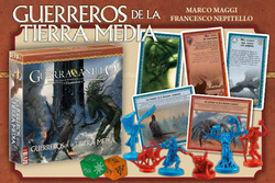 LA GUERRA DEL ANILLO EXPANSION: GUERREROS TIERRA MEDIA (SPANISH)
