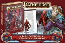 PATHFINDER LA MALDICION DEL TRONO CARMESI