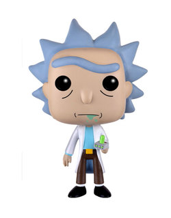 FIGURA POP ANIMATION: RICK WITH PORTAL
