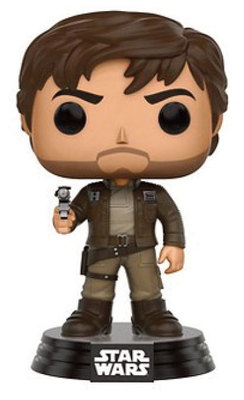 POP STAR WARS: ROGUE ONE - CAPTAIN CASSIAN BROWN JACKET LTD