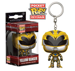 POCKET POP KEYCHAINS - POWER RANGERS MOVIE - YELLOW