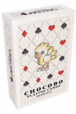 STANDARD BOX: CHOCOBO PLAYING CARDS - POKER(24)