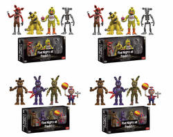 CAJA FIGURAS FIVE NIGHTS AT FREDDY PACKS (4)