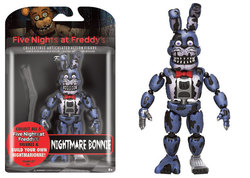 FIGURA ACCION FIVE NIGHTS NIGHTMARE BONNIE 12 CM