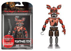 FIGURA ACCION FIVE NIGHTS NIGHTMARE FOXY 12 CM