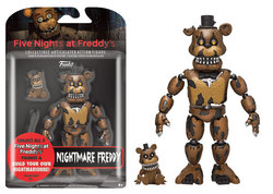 FIGURA ACCION FIVE NIGHTS NIGHTMARE FREDDY 12 CM
