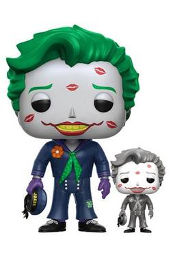 POP HEROES: DC BOMBSHELLS JOKER WITH KISSES