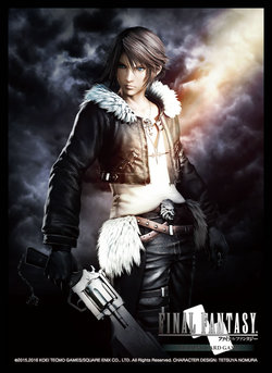 FINAL FANTASY TCG SLEEVES DDFF AC SQUALL (60)