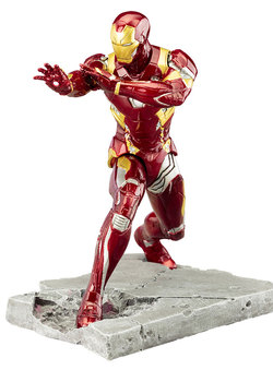 FIGURA ARTFX IRON MAN CIVIL WAR 19 CM