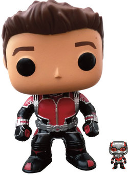 FIGURA POP MARVEL: ANT MAN & MINI FIGURE