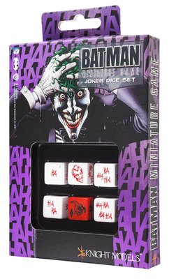 QW BATMAN MINIATURE GAME - JOKER SET D6
