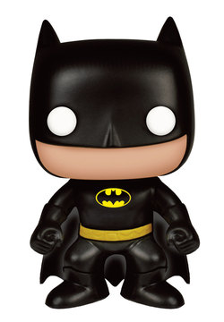 DC COMICS POP! HEROES VINYL FIGURE BATMAN (CLASSIC) 9 CM