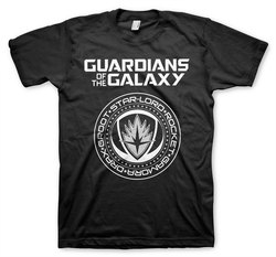 CAMISETA GUARDIANES DE LA GALAXIA SHIELD XXL