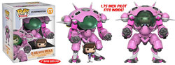 FIGURA POP OVERWATCH: MEKA WITH D.VA DRIVER
