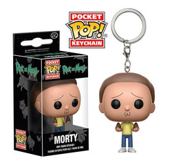 POCKET POP KEYCHAINS RICK & MORTY - MORTY