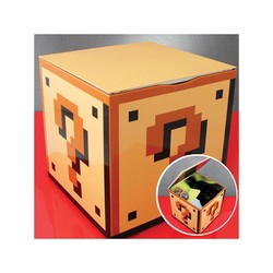 NINTENDO - QUESTION BLOCK STORAGE TIN SUPER MARIO BROS