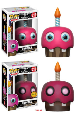 CAJA FIGURAS POP FIVE NIGHTS AT FREDDY`S CUPCAKE (6)