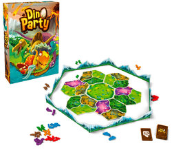 STANDARD BOX: DINO PARTY (SPANISH)(10)