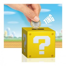 NINTENDO - QUESTION BLOCK MONEYBOX