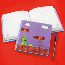 NINTENDO - NOTEBOOK 3D SUPER MARIO BROS. X1