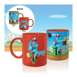 NINTENDO - SUPER MARIO HEAT CHANGE MUG