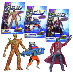 ASSORTED GALAXY GUARDIAN FIGURE BOX (6)