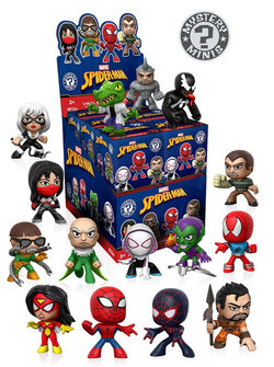 DISPLAY SPIDERMAN MINI FIGURITAS (12)