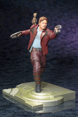 MARVEL GUARDIANS OF THE GALAXY 2 - STAR LORD W/ GROOT ARTFX STAT