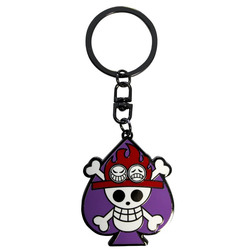 LLAVERO ONE PIECE SKULL ACE