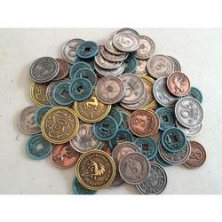SCYTHE METAL COINS *INGLES*