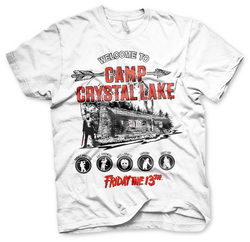 CAMISETA VIERNES 13 WELLCOME TO CRYSTAL LAKE XL
