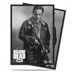 FUNDA ULTRA PRO THE WALKING DEAD RICK (50)