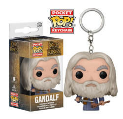 POCKET POP KEYCHAINS LORD OF THE RINGS - GANDALF